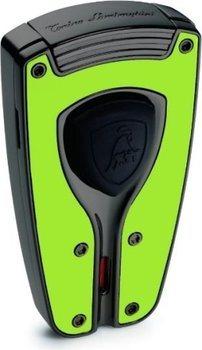 Lamborghini Feuerzeug 'Forza' grün
