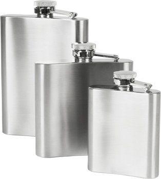 Flachmann Edelstahl 270 ml