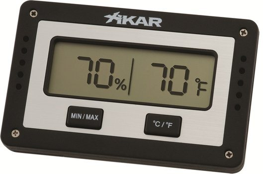 Xikar Digital Humidor Hygrometer rechteckig