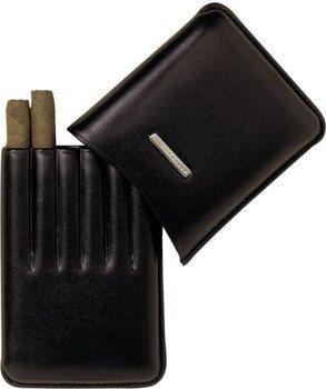 Lecerf Cigarillo-Etui schwarz 6er