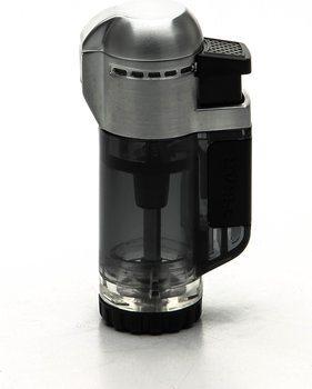 Xikar Tech Jet Feuerzeug einflammig schwarz