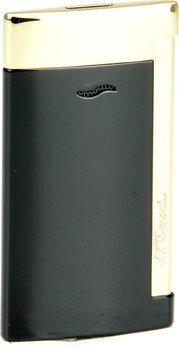 S.T. Dupont Slim 7 Jet Feuerzeug schwarz / gold