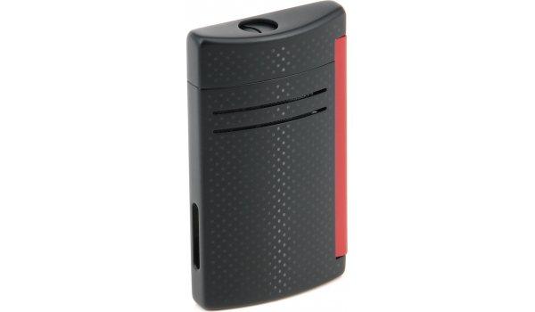 S. T. Dupont Maxijet 20160N - schwarz matt / rot