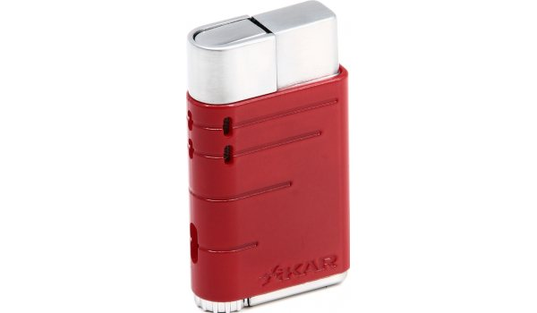 Xikar Linea Jet Feuerzeug rot