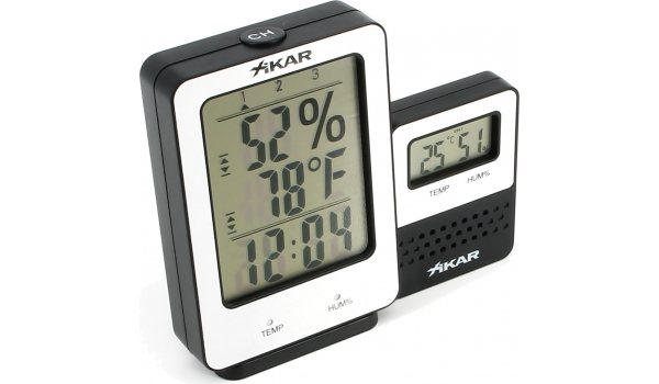 Xikar PuroTemp Digitales Hygrometer Wireless Remote System
