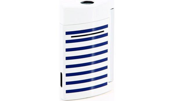 S.T. Dupont Minijet Navy Feuerzeug blau weiß