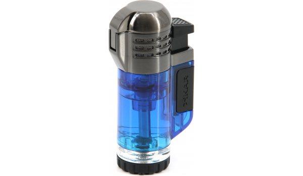 Xikar Tech Feuerzeug dreiflammig blau