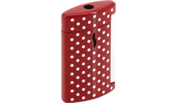 S.T. Dupont Minijet Feuerzeug Rot Weiß