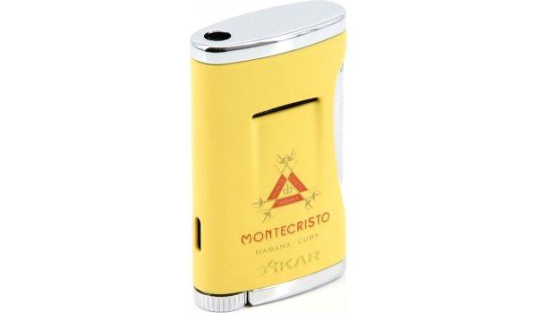 Xikar Montecristo Jetfeuerzeug Gelb