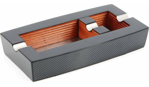 Zigarrenaschenbecher Modern Carbon