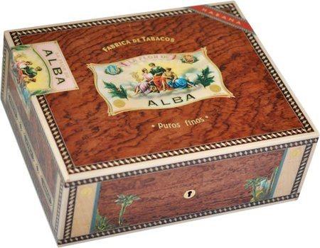 Elie Bleu Flor De Alba 75-Zigarren-Humidor Bubinga