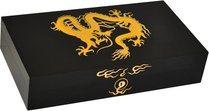 Elie Bleu Golden Dragon schwarzer Humidor