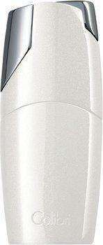 Colibri Rio Jet Feuerzeug metallisch weiß