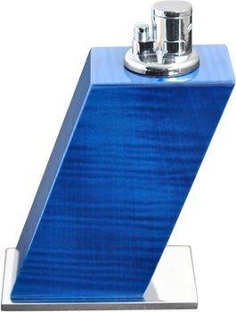 Elie Bleu Tischfeuerzeug Ahorn blau