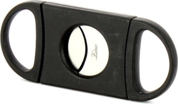 Zino Doppelklingen-Zigarrencutter schwarz Foto 2