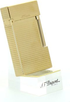S.T.Dupont Ligne 2 16284 vergoldet carré