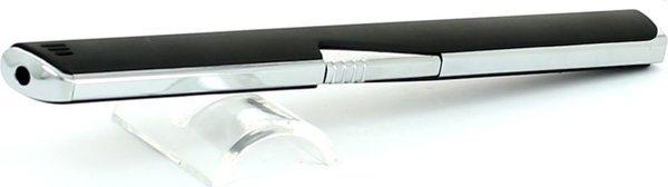 Stabfeuerzeug Piezo Coney malaga schwarz/chrom