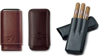 Zigarrenetuis aus Leder